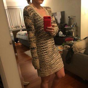 Short Missoni Dress with Chevron Detail